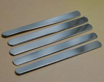 "Ten 1100 1/4"" x 3""  18g Aluminum Wraparound Ring Blanks"