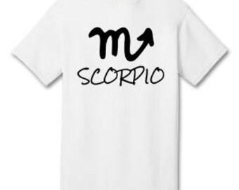 SCORPIO 100% Cotton Tee Shirt #H010