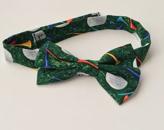 Golf Bow tie | Boys Bow tie | golf