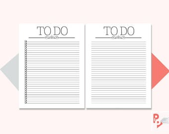TO DO List Big Happy Planner Printable Inserts, Create 365, Happy Planner Insert, Happy Planner Large Size, MAMBI Planner, Instant Download