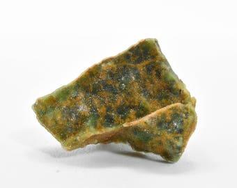 """Chrome Druzy Green Chalcedony """"Sugar Moss"""" Agate Specimen from Bursa, Turkey 04"""