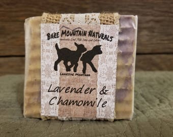 Lavender & Camomile fragrance All Natural Goat Milk Soap