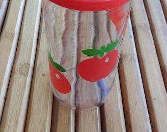 HENKEL measuring cup - HERME GLASS - advertising article - Made in France - Year 1970 - vintage - pop -