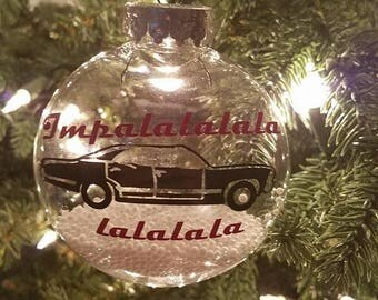 Supernatural Themed Ornament
