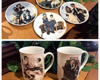 Norman Rockwell items