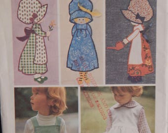 Vintage Holly Hobbie Applique (Simplicity 6258)