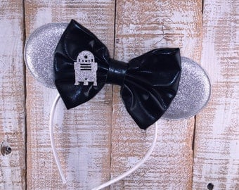 Star Wars Inspired Minnie Ears, Star Wars Headband, Girls Birthday Headband, Bachelorette Party