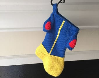 Snow White Inspired Holiday Stocking