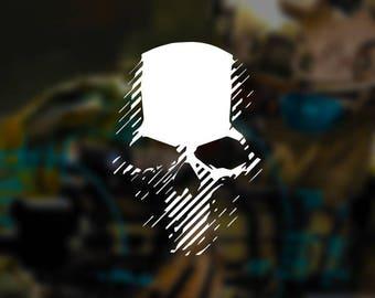 Ghost Recon - Ghost Recon Wildlands Skull Vinyl Decal