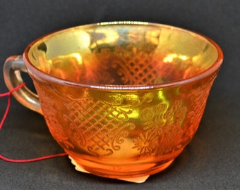 Carnival Glass Teacup