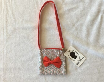 Toddler Bag with Bow Detail