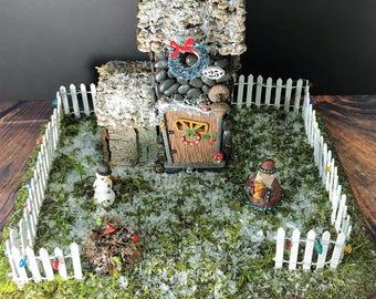 Fairy House-Christmas