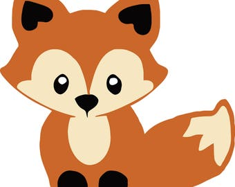 Oh For Fox Sake - Color SVG Digital Download Files