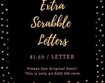 Extra Scrabble Letters (11-20)