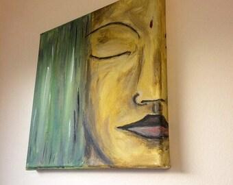 Woman canvas