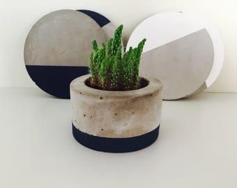 Cement Planter, Concrete Planter