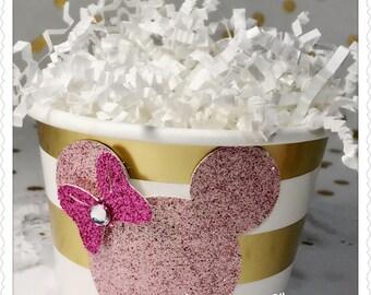 8 Minnie Inspired Ice Cream Bowl Snack