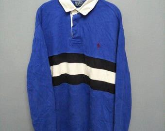 Polo ralph lauren basic logo polo shirt long sleeve