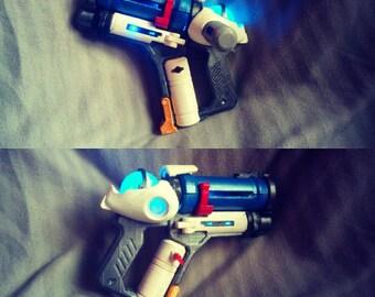 Cosplay HALLOWEEN Mei Gun 3D print + original painting + led