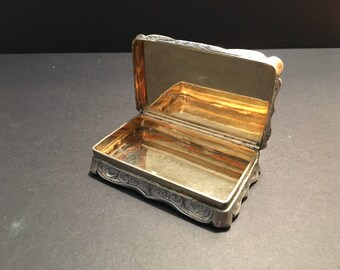 Antique Victorian Snuffbox
