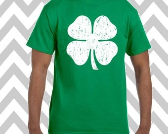 Shamrock St. Patrick's Day Unisex T-Shirt Drinking Shirt Funny St. Patty's Day Tee Green Beer Shirt Irish Shirt Shamrock Tee Lucky Shirt