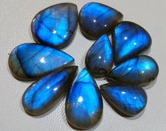 Blue Fire Labradorite cabochon