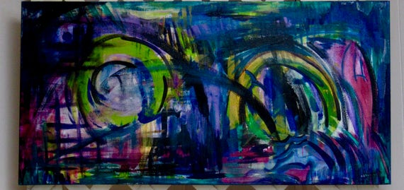 """Abstract Painting """"Wonder"""""""