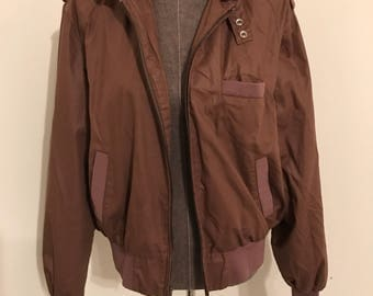 """Members Only style jacket by Barry Dolan in size x-large! Like new"""" condition!"""