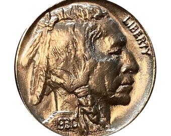 Superb - 1930 P Buffalo Nickel - Gem BU / MS / UNC - High Grade Coin