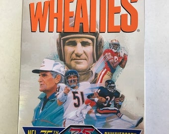 1993 Wheaties NFL 75th Anniversary Collectors Edition
