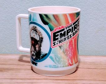 Vintage 1980s Star Wars Empire Strikes Back Collectors Mug