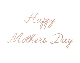 Gift Card - Happy Mother's Day Gift Card
