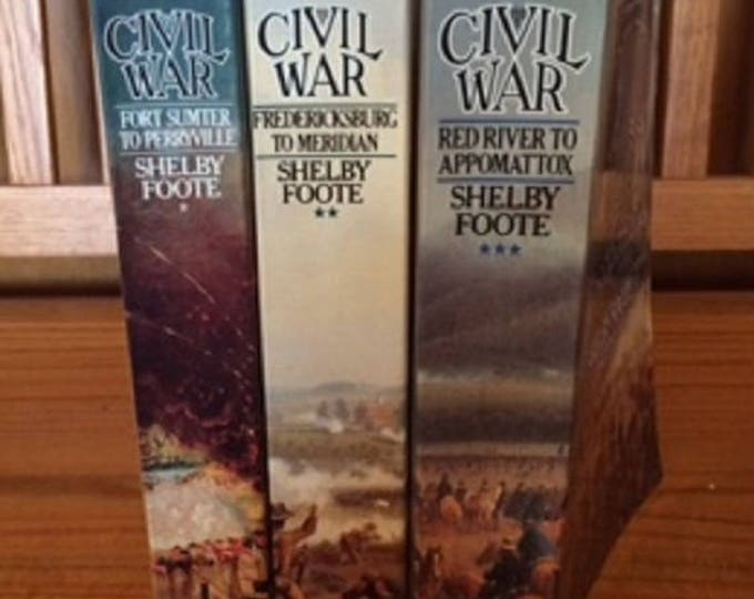 Shelby Foote's The Civil War-A Narrative 3 volume Softcover set