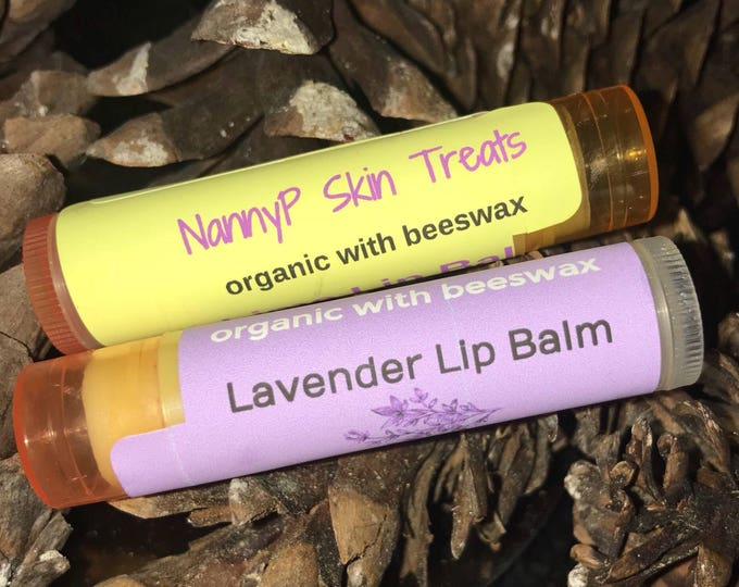Organic Essential Oils Lip Balm With Vitamin E - CERTIFIED AROMATHERAPIST