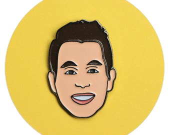 Ben Platt enamel lapel pin (of Dear Evan Hansen)