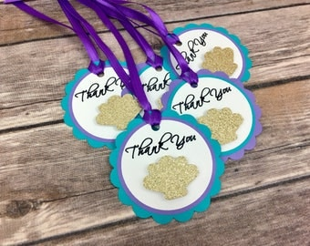 Under the Sea Tags, Mermaid Party, Under the Sea Party, Baby Shower, Birthday, Party Favors