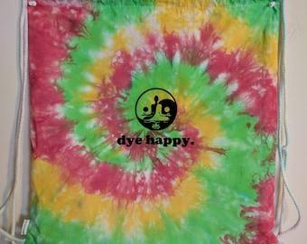 Dye Happy RASTA Drawstring Bag