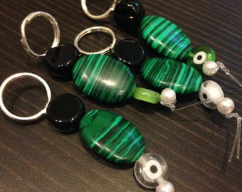 Stitch Markers - Forest Stones