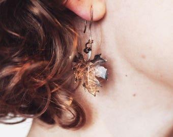 FABLE Maple Leaf Earrings