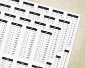 1-12 Math Table Chart Pri...
