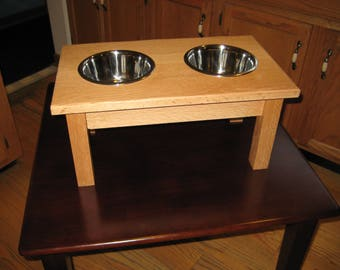 Elevated dog bowls, Small