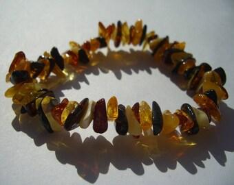 Amber bracelet Baltic amber yellow
