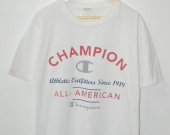 Vintage 90s Champion logo athletic shirt