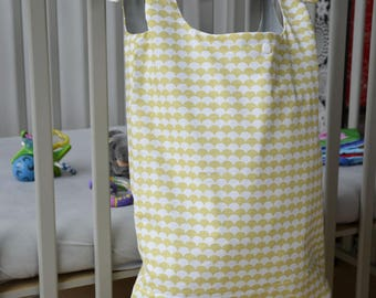 Bag - Yellow & gray