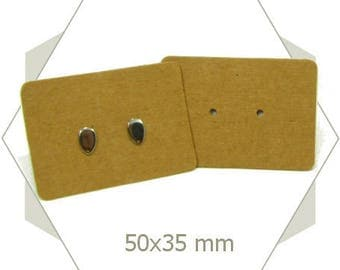 50 fring earrings DV40 kraft cardstock
