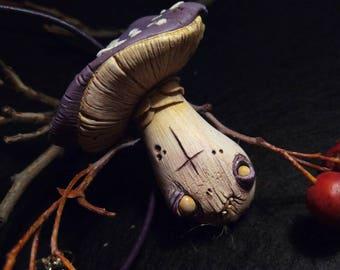 Toxic Mushroom Necklace
