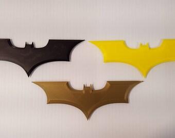 "6"" Batman Baterrang, 3D Printed"