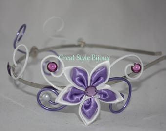very nice wire wheels and flower hairband