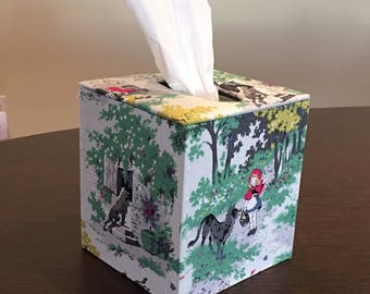 Little Red Riding Hood Tissue Box Cover