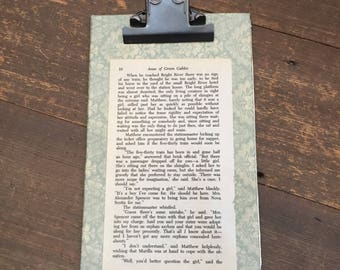 Clipboard with Anne of Green Gables pg 10